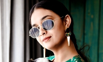கார்த்திக் சுப்புராஜ்-கீர்த்தி சுரேஷின் டைட்டில் குறித்த தகவல்