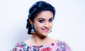 Keerthy Suresh's gorgeous look in next release revealed!