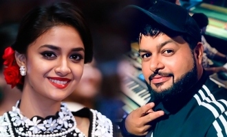 S.S. Thaman's positive reply to Keerthy Suresh