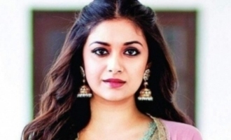 Keerthy Suresh transforms into a 'Penguin' on her birthday