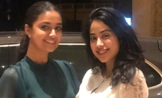 Keerthy Suresh and Janhvi Kapoor party in Mumbai!