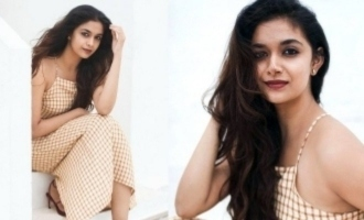 Keerthy Suresh's 4 photos 1 Video go viral on the same day for diferent reasons