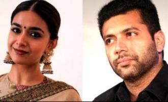 Is Keerthy Suresh acting as the elder sister of Jayam Ravi?