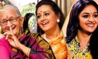 HILARIOUS : First Night Scene of DhaDha 87 - Keerthy's Paati and Menaka Suresh Interview