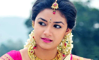 Keerthy Suresh follows Kamal's technique for Savithri biopic