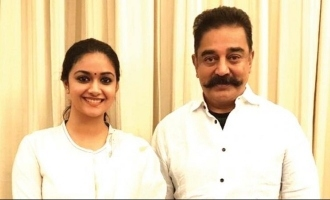 Kamal Haasan to romance Keerthy Suresh in his next?