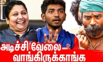 My son scolded Dhanush and felt bad - Ken and Grace Karunaas fun interview