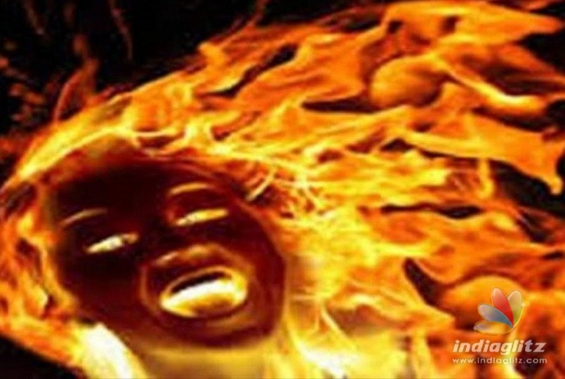 Malda widow sets rapist on fire