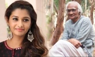 Priya Bhavani Shankar pays rich tribute to Ki Ra