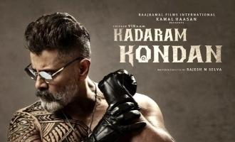 The racy run time of Chiyaan Vikram's 'Kadaram Kondan'