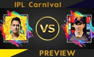 IPL Carnival  Preview: CSK Vs KKR