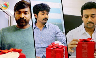 'Kootathil Oruvan' team surprises celebrities like Surya, Vijay Sethupathi, RJ Balaji