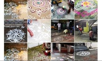 No CAA no NRC DMKs new form of protest through kolam