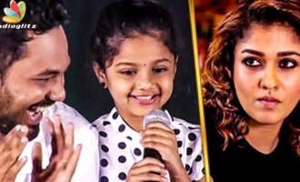 Nayanthara Ammavuku Romba Nandri : Kottachi's Daughter Cute Speech