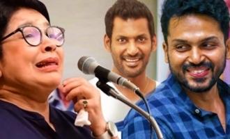 Kovai Sarala about Nadigar Sangam Elections 2019