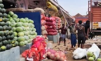 Curfew extented: Koyambedu market to be open on Sunday