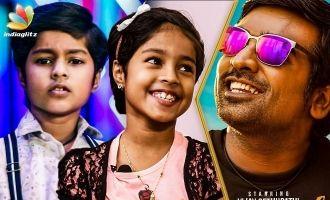 Baby Krithika Cutely Imitates Vijay Sethupathi & Nayanthara