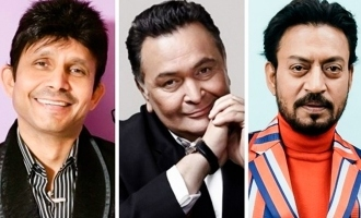 FIR filed against actor for disrespectful comments on late actors Irrfan Khan, Rishi Kapoor