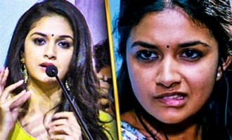 My Role Was Criticized More in THODARI : Keerthy Suresh Speech