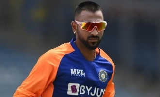 Indian Cricketer Krunal Pandya tests positive for Covid-19