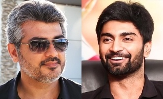 Atharvaa is a Thala fan!