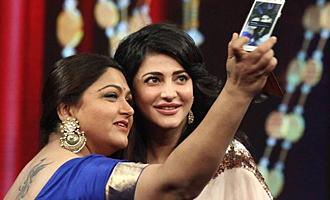 Khushbu slams Shruti Haasan, calling her unprofessional