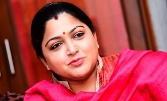 குஷ்பு வீட்டருகே நின்ற மர்ம டிரக்: அதிரடி நடவடிக்கை எடுத்த போலீசார்