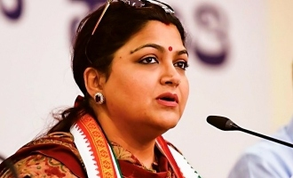 Kushboo slap man Bangalore congress election campaign