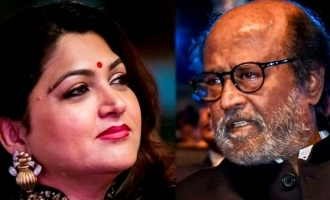 """You are our treasure"" - Kushbhu's emotional message to Rajnikanth!"