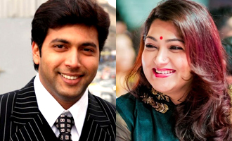 Khushbu's unique way of showing her love for Jayam Ravi