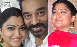 Khusbhu makes it clear about her stand on Kamal Haasan