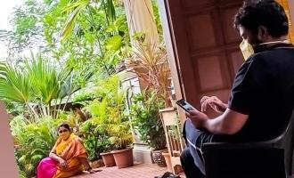தனிமைப்படுத்தப்பட்டிருக்கும் சுந்தர் சி: குஷ்பு வெளியிட்ட புகைப்படம்!