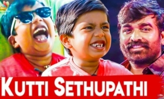 A FUN RIDE with SUPER DELUXE Junior Super Star : Ashwanth Funny Interview