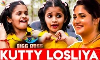 Kutty Losliya - Miruthula Sri Imitates Bigg Boss 3 Housemates