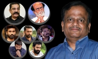 Rajini, Kamal, Dhanush, and other stars mourn the loss of K.V. Anand
