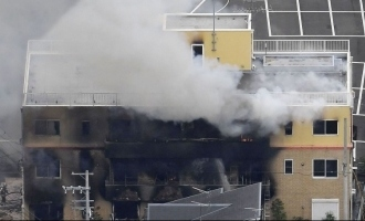 Madman sets fire in animation studio killing 30 people