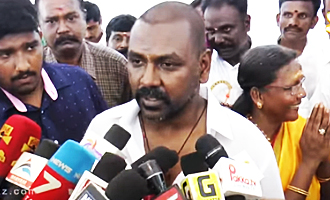 Raghava Lawrence's temple for his mom and Unveil His Mother's Statue