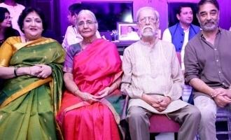 கமல்ஹாசன் வீட்டிற்கு திடீரென விசிட் செய்த லதா ரஜினிகாந்த்!
