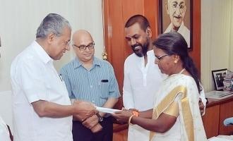 Ragawa Lawrence request to Kerala CM