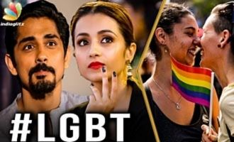 Why stars support LGBT - Lokesh & Anupama Kumar Interview