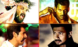 'Kathakali' 'Tharai Thappattai' 'Rajini Murugan'  'Gethu' Live Audience Response