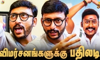 RJ Balaji Gives Back to Criticisms for his Review | LKG Movie Interview Part 2