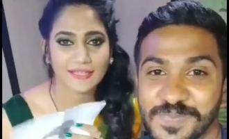 Losliya's latest video goes viral