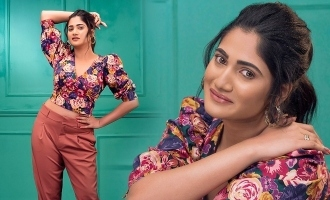 Losliya's first photoshoot after Bigg Boss 3!