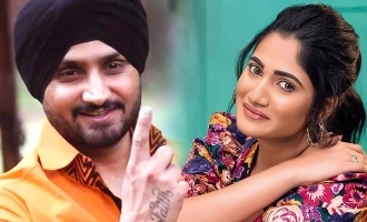 Losliya's 'Friendship' with Harbhajan Singh