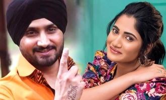 Losliya joins in Harbajan Singh in Friendship movie