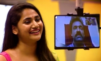 Biggboss Tamil season 3 Losliya speak with her father
