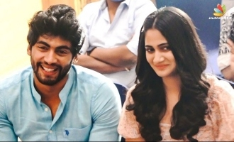Losliya and Tharshan's romance pics and video go viral
