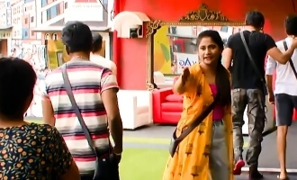 Biggboss Tamil season 3 Losliya Kavin and Madhumidha angry argument