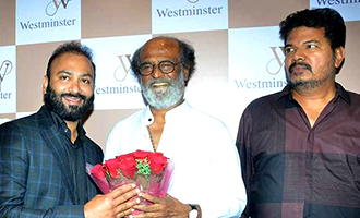 Superstar Rajinikanth Shankar at Lyca's Westminister Hospital inauguration in Nungambakkam